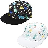 Bonvince Kids Boys Girls Sun Protection Hat Lightweight Quick Dry Adjustable Caps, 2-4Y