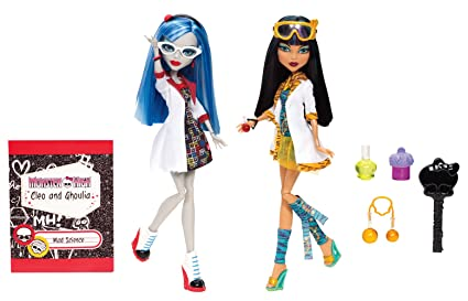 7800298a3ab7 Image Unavailable. Image not available for. Color  Monster High Mad Science  ...