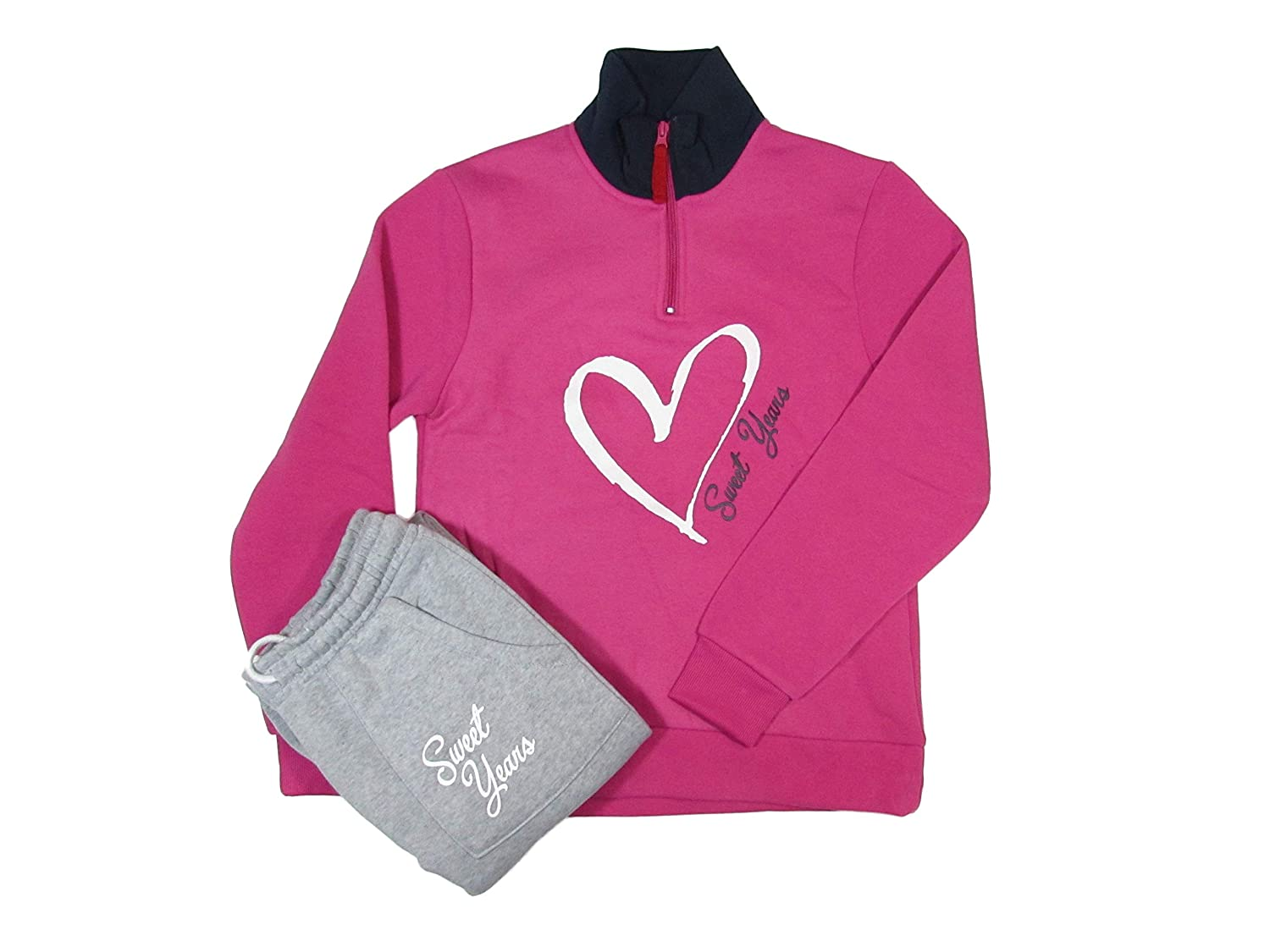 Sweet Years - Chándal - para Mujer Fucsia S: Amazon.es: Ropa y ...