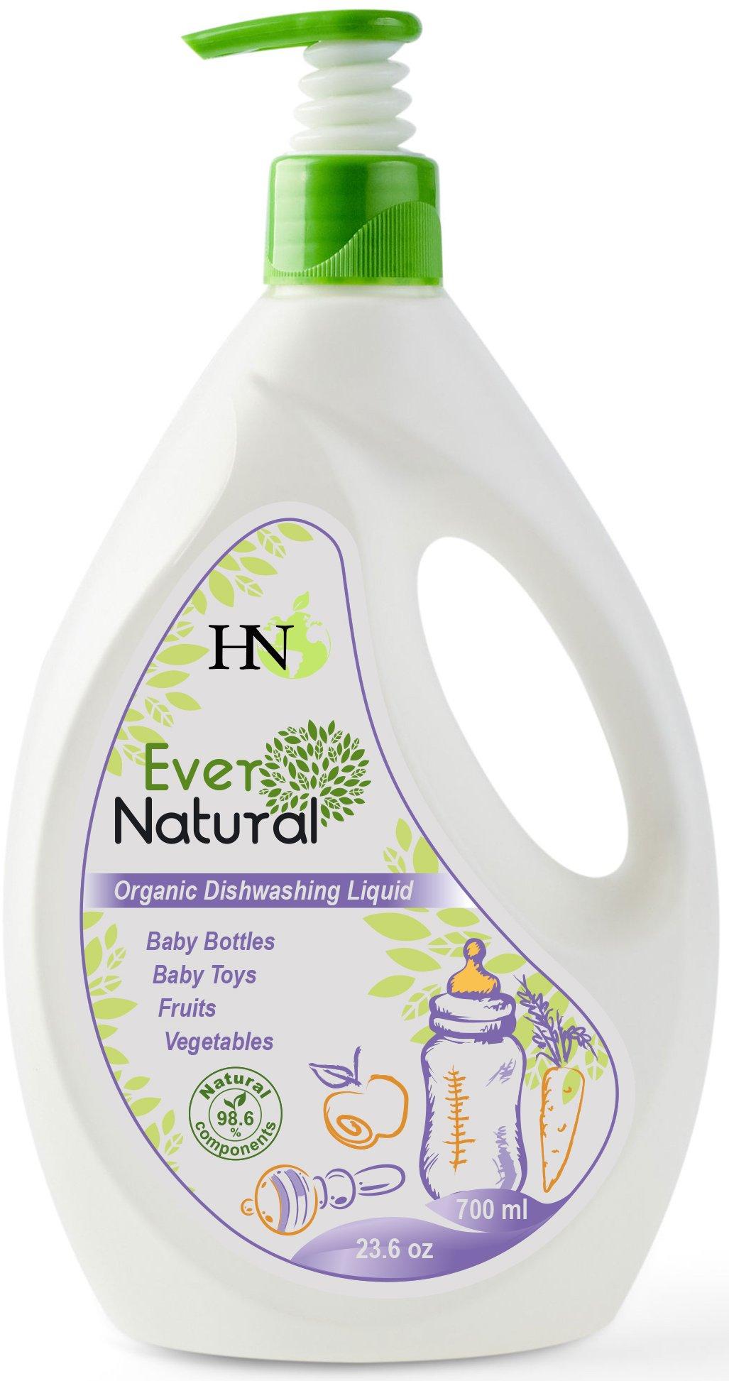 Organic Baby Dishwashing Cleaning Liquid - Fruit Vegetable Washing Liquid Safe for Kids Adults-Dishwashing Detergent Liquid for Baby Bottles Toys and for Fruits and Vegetables Baby Guard
