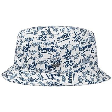 Amazon.com  Stetson JBS-Graffiti Bucket Hat Men  Clothing 8d15e4c5a58