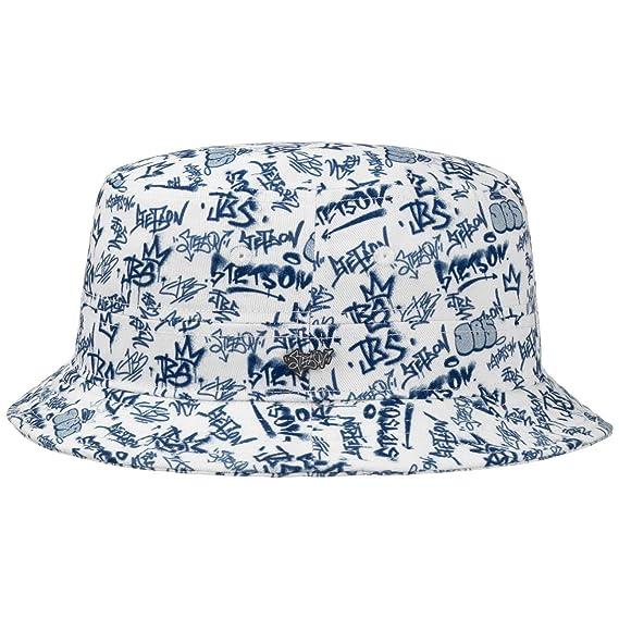 Stetson JBS-Graffiti Bucket Hat Sun Hat Hat  Amazon.co.uk  Clothing 88710189fb2