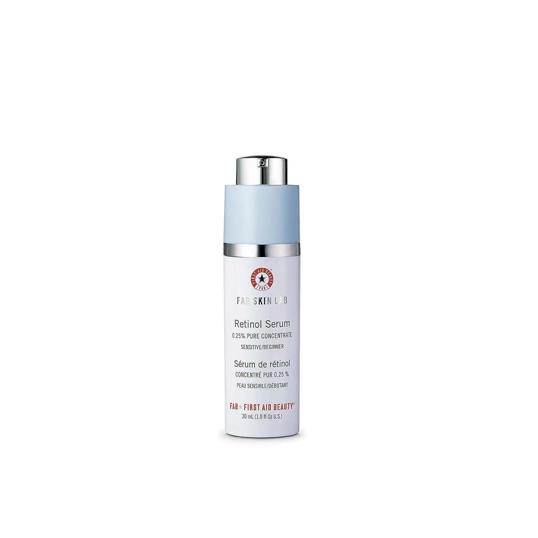 Primo soccorso bellezza Fab Lab pelle siero Retinolo .25% puro concentrato First Aid Beauty 606UK