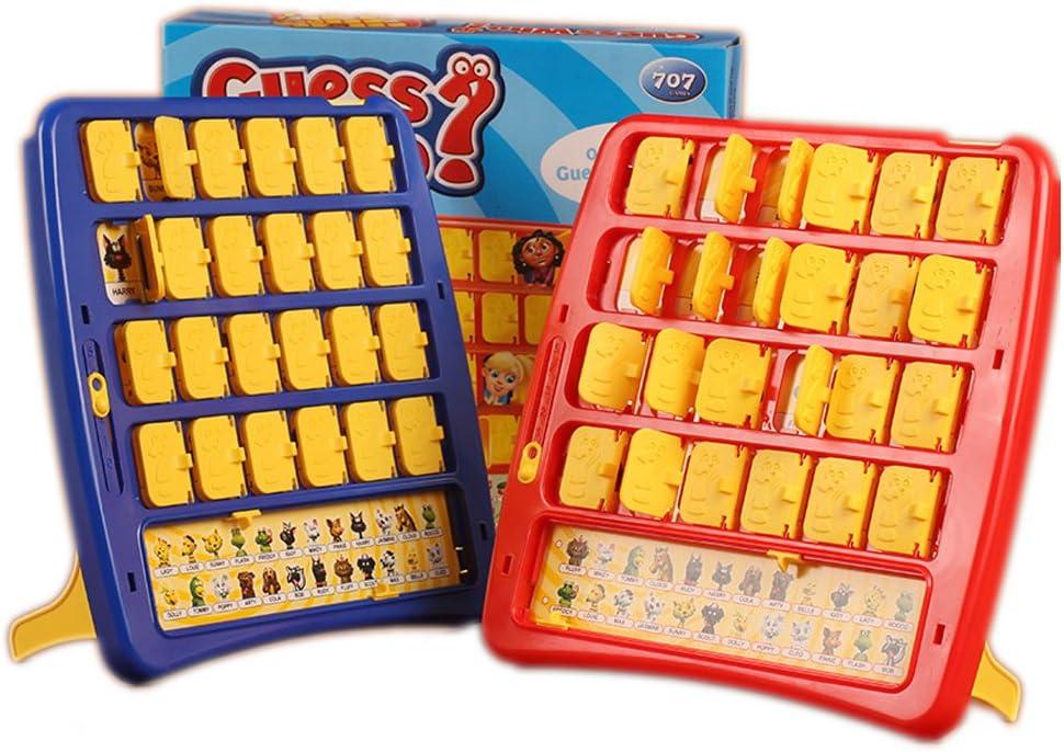 Juego de mesa de la familia de la CONJETURA OMS Mystery cara del juego: Amazon.es: Juguetes y juegos