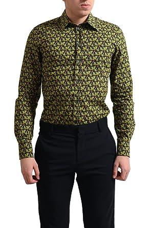 Amazon Com Dolce Gabbana Gold Men S Multi Color Cactus Print