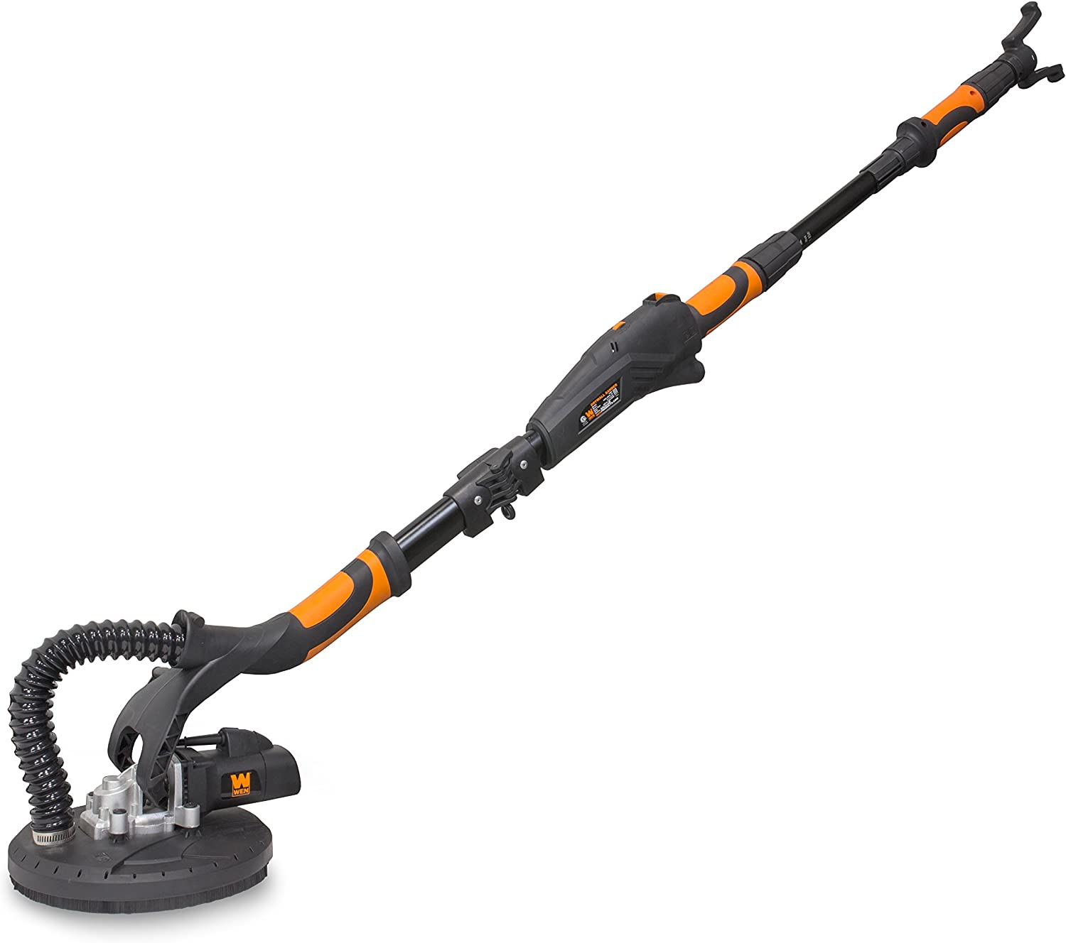 WEN 6369 Variable Speed 5 Amp Drywall Sander with 15' Hose