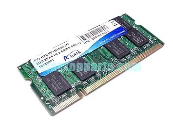 ADATA hyovf1b163gzm 2 GB 2RX8 1,8 V, 200-pin SODIMM PC2 –