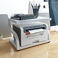 PUNCIA Office Desktop Laser Multifunction Printer Copier Scanner Shelf Stand Rack with Anti - Skid Pads for Desktop…