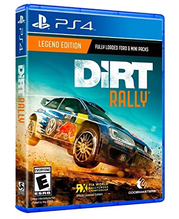 Dirt Rally Legend Edition PS4 Code Masters
