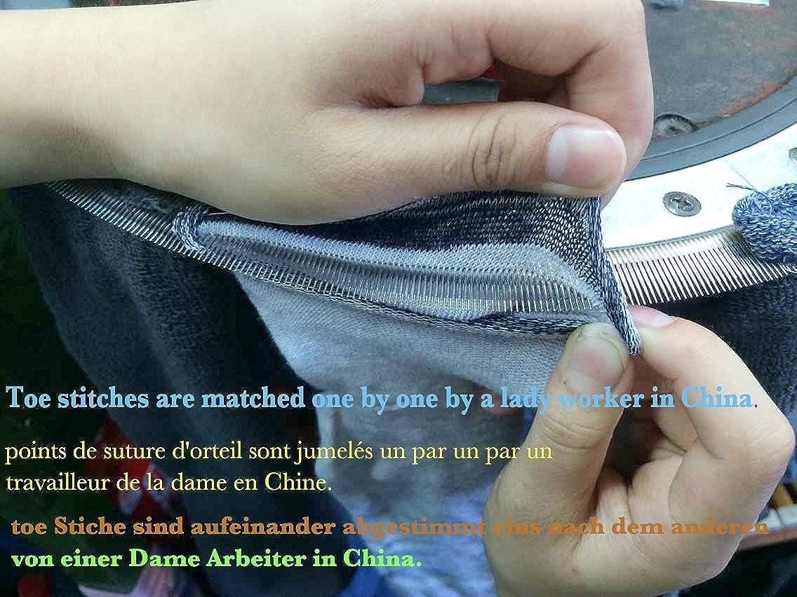 JHosiery Se/ñoras calcetines maternidad sin costuras generoso manguito ancho 35-38