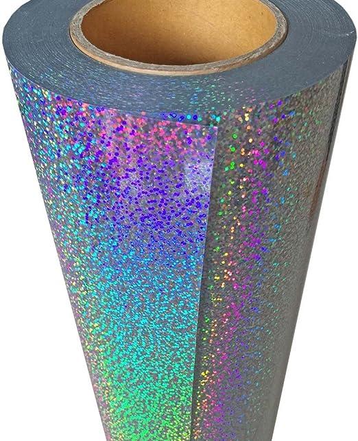 hoho Colorful tóner transferencia de calor papel holográfico Iron ...