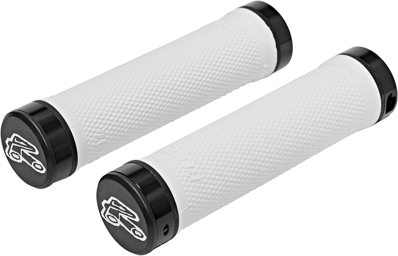 Soft Compound Renthal Grip Tech Lock On Bike Handlebar Grips Grey