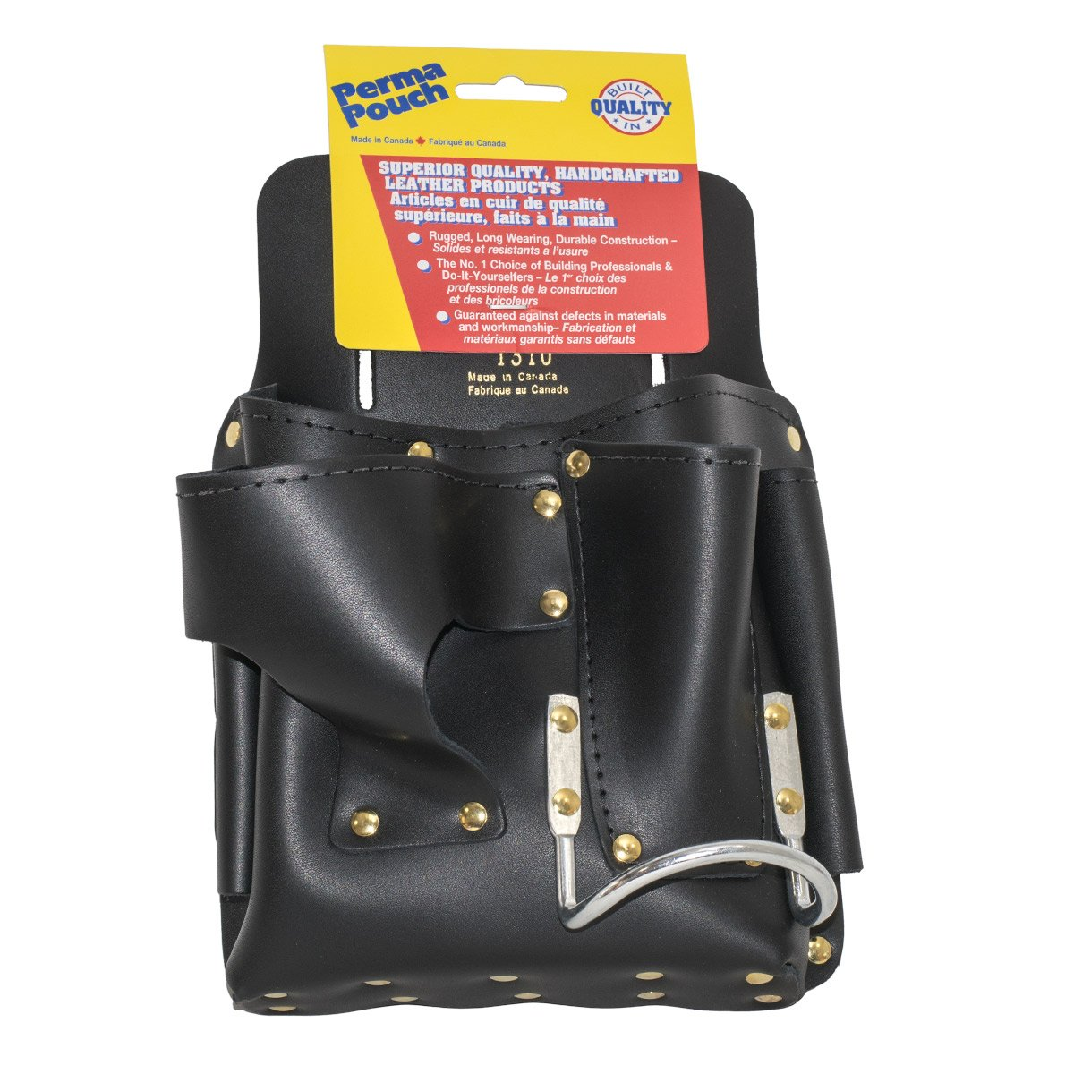 Perma Pouch Top Grain Latigo Leather Drywall Tool Pouch by Perma Pouch