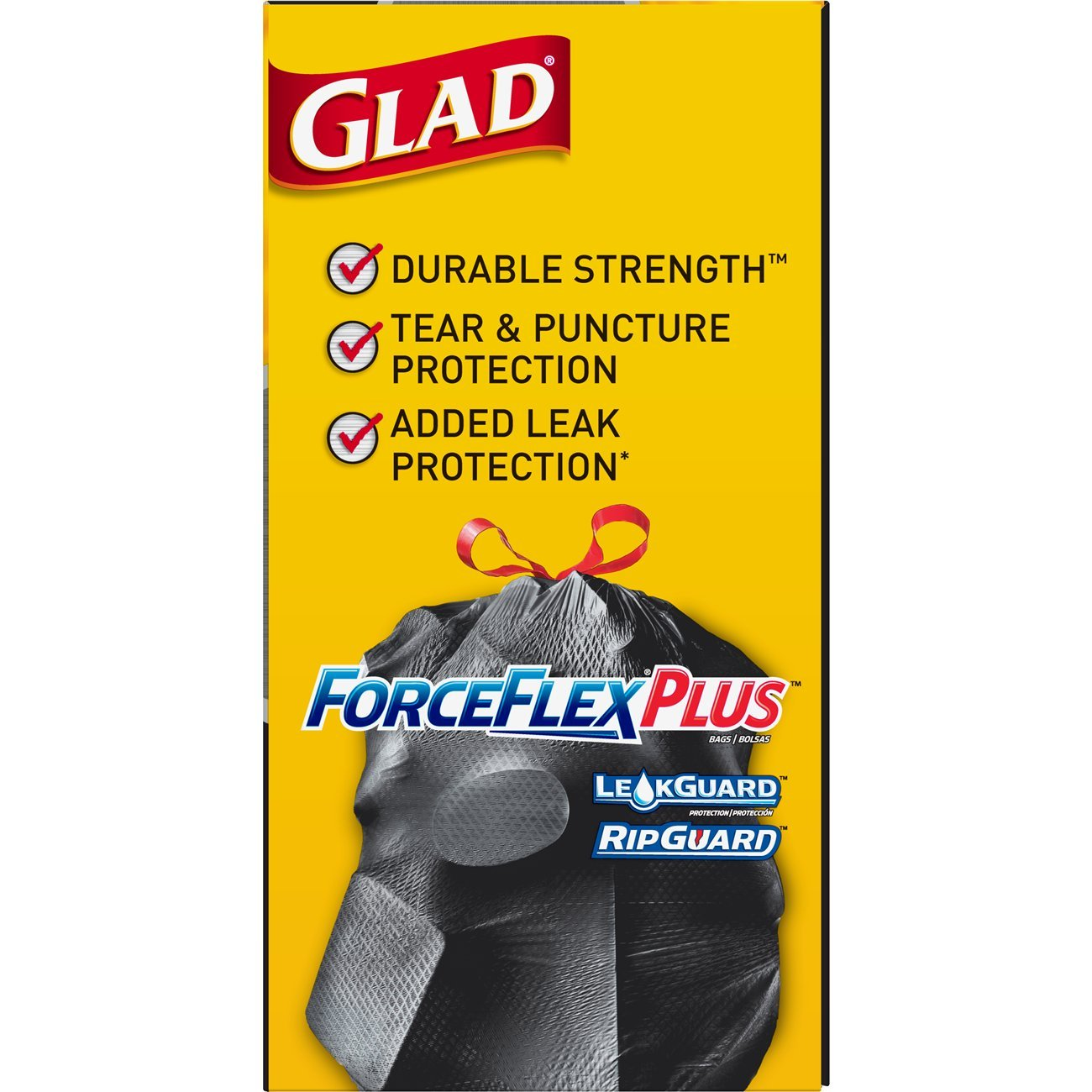 Amazon.com: Glad ForceFlexPlus Drawstring Large Trash Bags - 30 Gallon - 50 Count: Sports & Outdoors