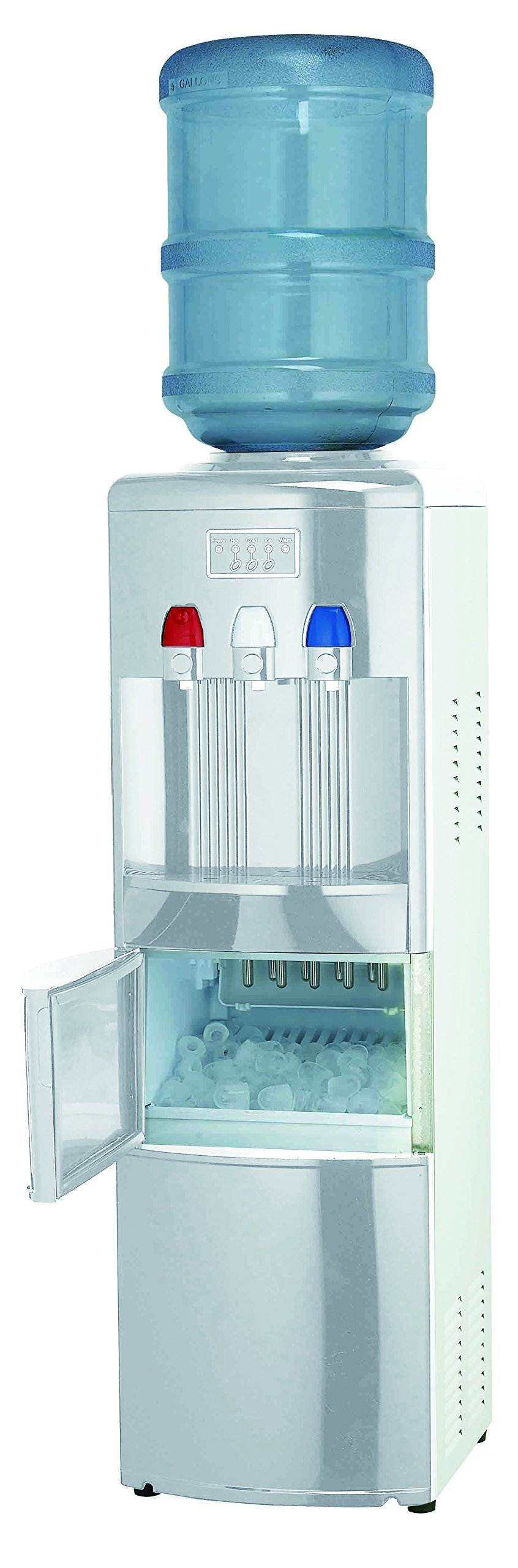 Igloo Water Cooler/Dispenser with Ice Maker, White