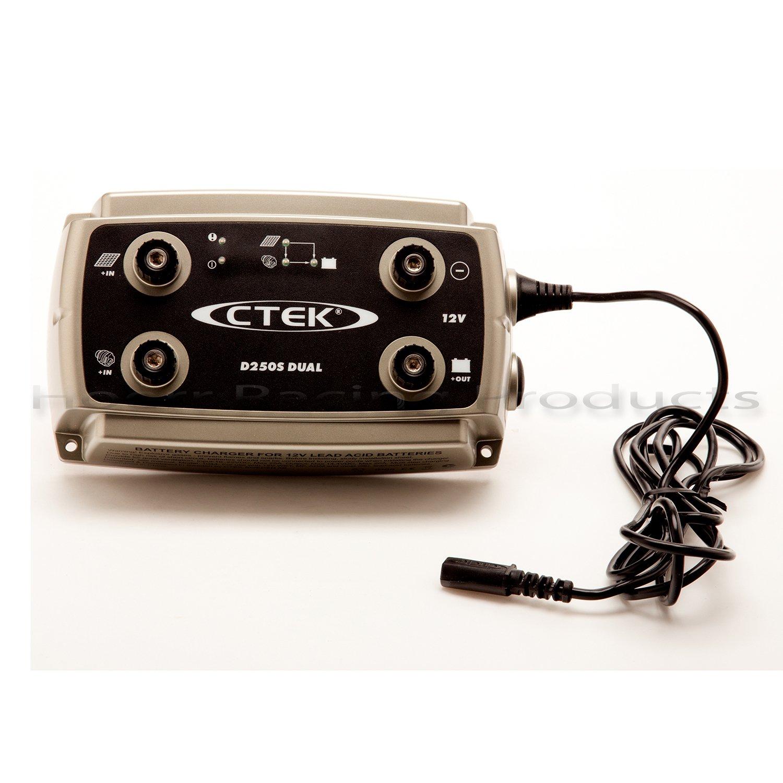 CTEK (56-677) D250S 5-Step, Automatic DUAL 12 Volt 20 Amp Battery Charger