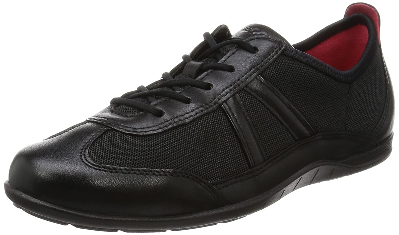 ECCO Women's Bluma Summer Sneaker B00CMXQYBW 35 EU/4-4.5 M US|Black/Black Firelfy/Textile/Nap Lack