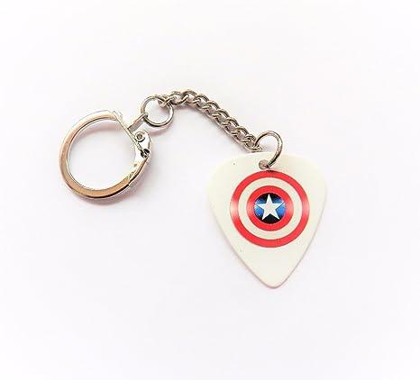 Escudo Capitán América superhéroe Estampado púa para ...