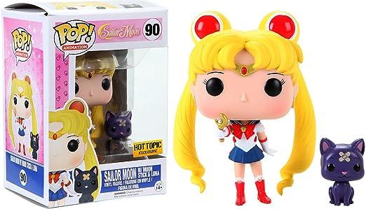 2 opinioni per Funko 6580- Sailor Moon, Pop Vinyl Figure 90 Sailor Moon with Moon Stick and