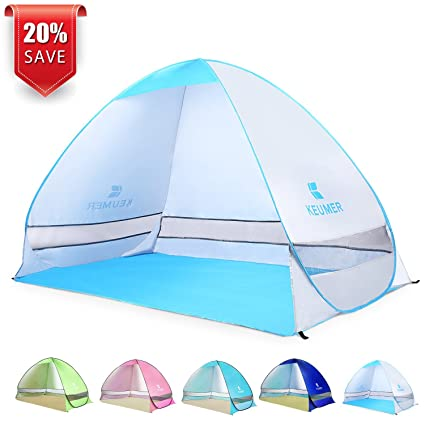quality design e2485 544b2 Amazon.com : BATTOP Pop Up Beach Tent Camping Sun Shelter ...