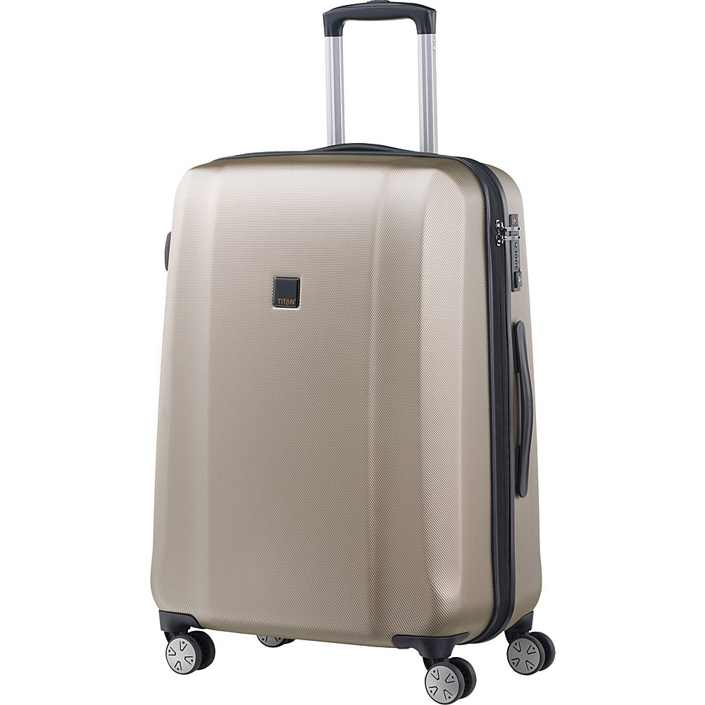 2332ae95ff0c Titan Xenon Polycarbonate 27'' Hardside Spinner Luggage, Champagne