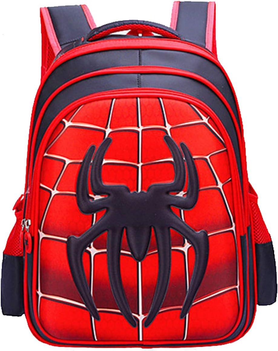 Niños Mochila Niña Niños Bolsa de Viaje Mochila Impermeable Capitán América Spiderman Impreso Mochila Escolar Mochila Escolar Camping Senderismo