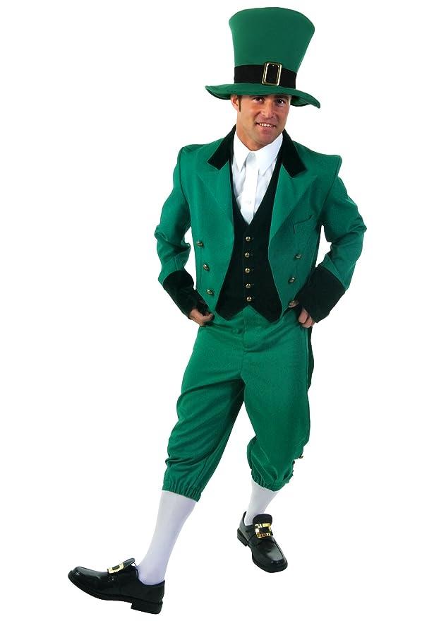 amazoncom funcostumes fun costumes mens plus size leprechaun costume clothing