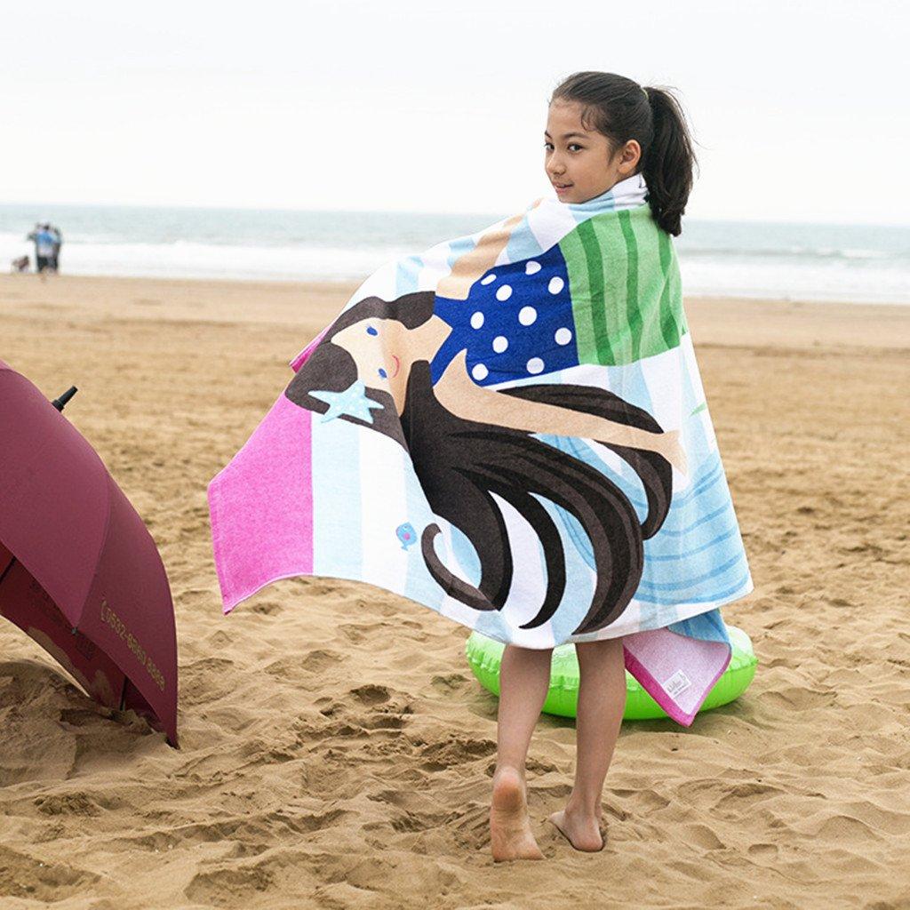 Ni/ños Toalla de Ba/ño Albornoz de Playa Ni/ñas Ni/ños Poncho 100/% Cotton Manta Animal Nataci/ón Toalla Beb/é Nadando Surf Deporte Ba/ñera Fiesta Cobija