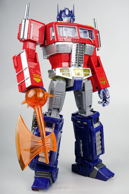 Two Very Nice Optimus Prime Toys D B R C Racing