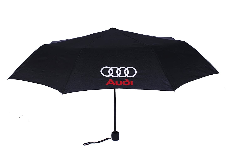 Audi Quattro RS S-Line Parapluies Automatique Noir Parapluie Polyester Sport Car