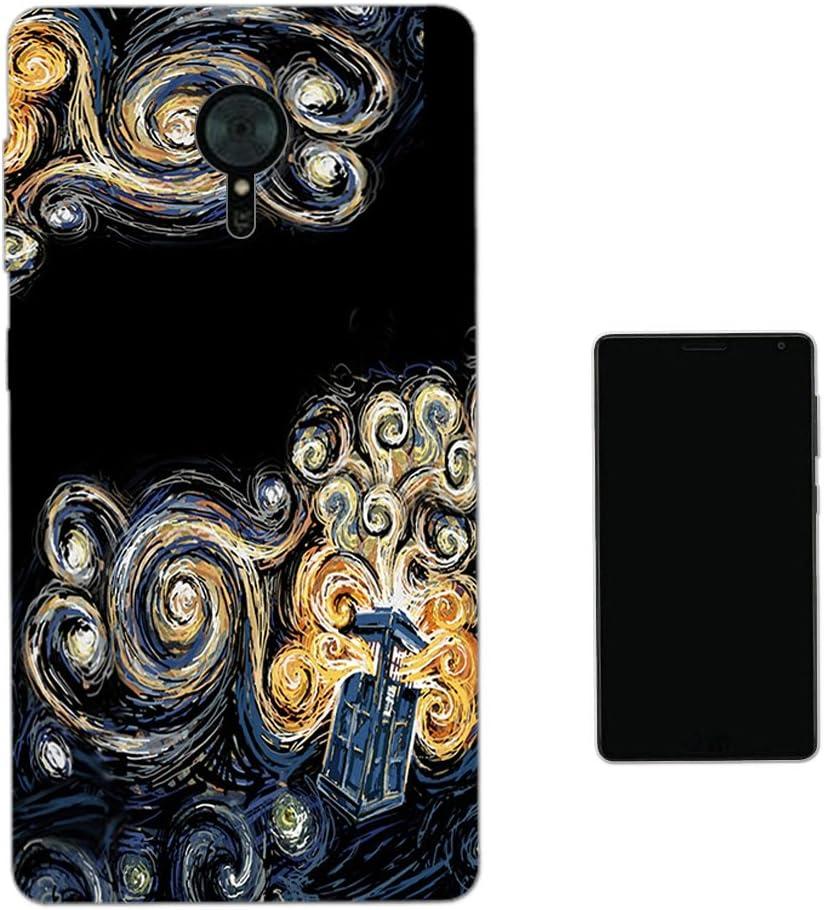 Moe-Cell Doctor Who Tardis Van Gogh Canvas Lenovo Zuk Edge Carcasa de Gel de Silicona Case Cover: Amazon.es: Electrónica