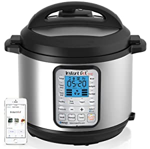 Instant Pot Smart Bluetooth Enabled Multi-functional Pressure Cooker.