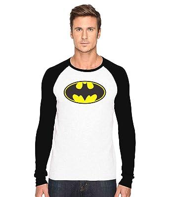dda185cc3 Batman Logo Fan Art Full Sleeves T-shirt | Tshirt By TrippyWear (Large)