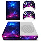 Vanknight Xbox One S Slim Console Remote Controllers Skin Set Vinyl Skin Decals Sticker Cover for Xbox One Slim (XB1 S…