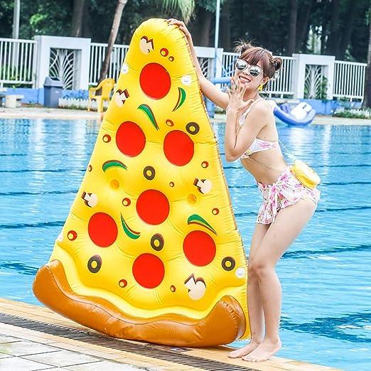 SGLI Pizza Inflable Flotante De La Piscina De La Piscina Acuática ...