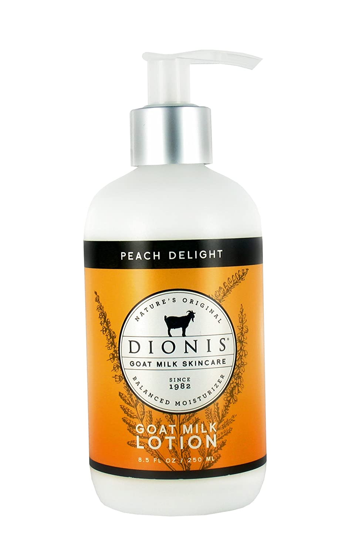 Dionis Goat Milk Skincare Lotion (Peach Delight, 8.5 oz)