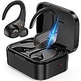 Wireless Earbuds,Bluetooth 5.0 Earbuds with Mic,True Wireless Earbuds Sport with Ear Hooks,Sweatproof Workout Headphones with