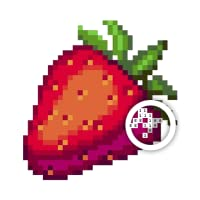 Food Color By Number: Pixel art adult coloring to recolor 8bit food coloring books...