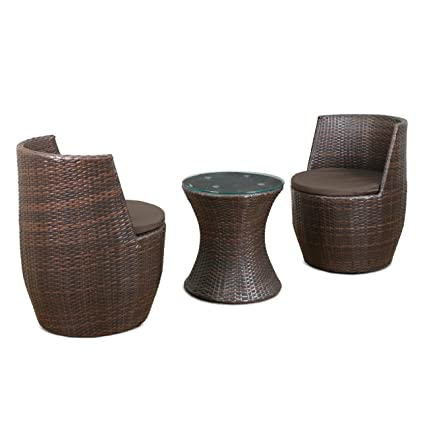Cool Royal Oak Barrel Outdoor Table With 2 Chairs Brown Andrewgaddart Wooden Chair Designs For Living Room Andrewgaddartcom