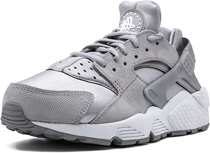 Joseph Banks distorsión dividir  Amazon.com | Nike Air Huarache Run PRM Suede Womens Shoes Medium Grey/Off  White 833145-002 (11.5 B(M) US) | Road Running