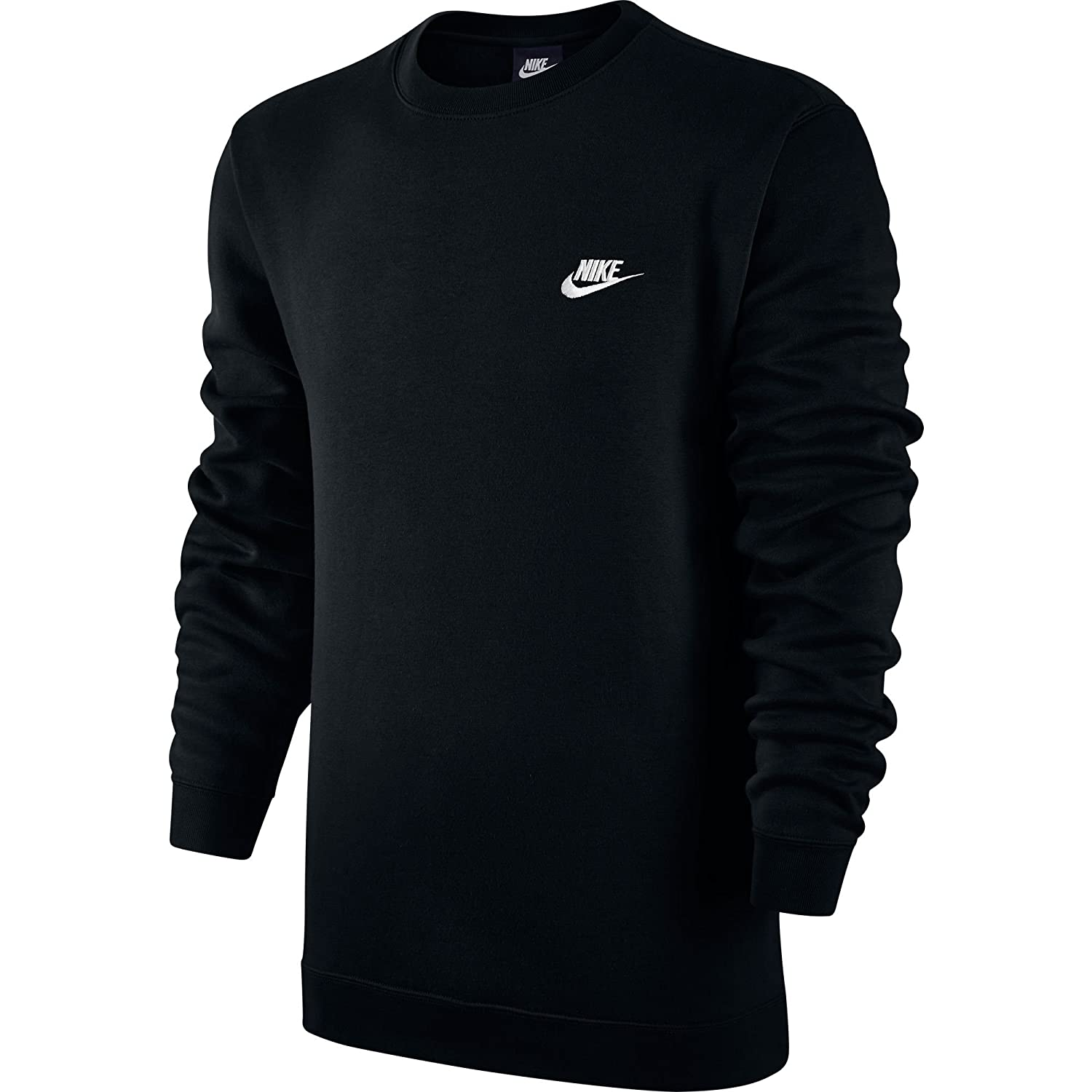 Nike M NSW Club CRW BB Long Sleeved t-Shirt, Hombre