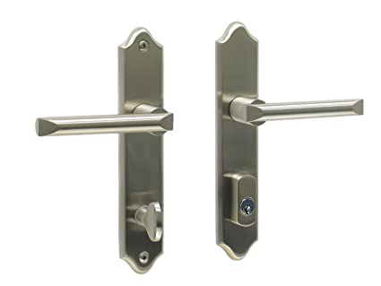 Athens By FPL  Solid Brass Active Trim Only Lever Set For Multipoint Lock,  Schlage