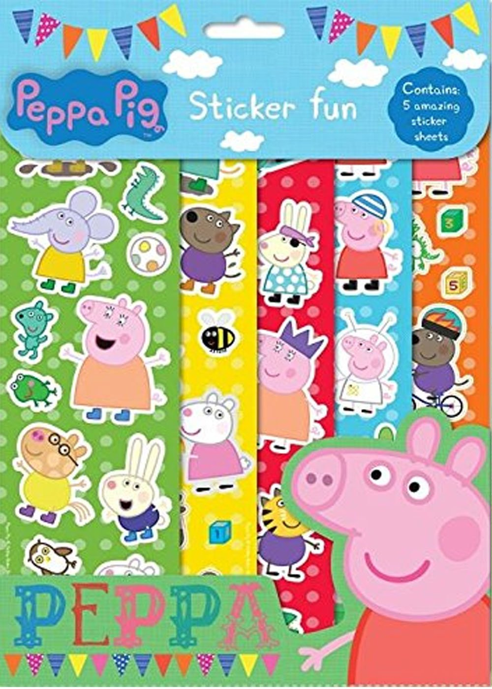Peppa Pig Sticker Fun 82 PESFN