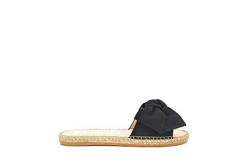 MANEBI Versailles, Alpargatas para Niñas, Negro (Black K 1.0), 39 EU: Amazon.es: Zapatos y complementos