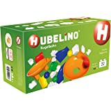 HUBELINO Marble Run - 22-Piece Twister Expansion Set - the Original! Made in Germany! - Certified and Award-Winning Marble Run - 100% compatible with Duplo