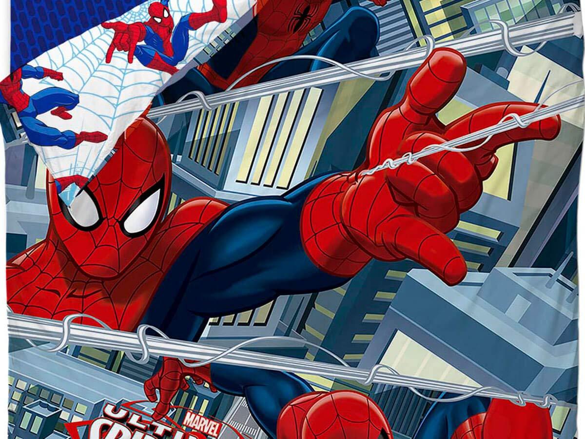 Saco Nórdico Spiderman Venom Ideal para Literas y Camas Nido de 90cm: Amazon.es: Juguetes y juegos