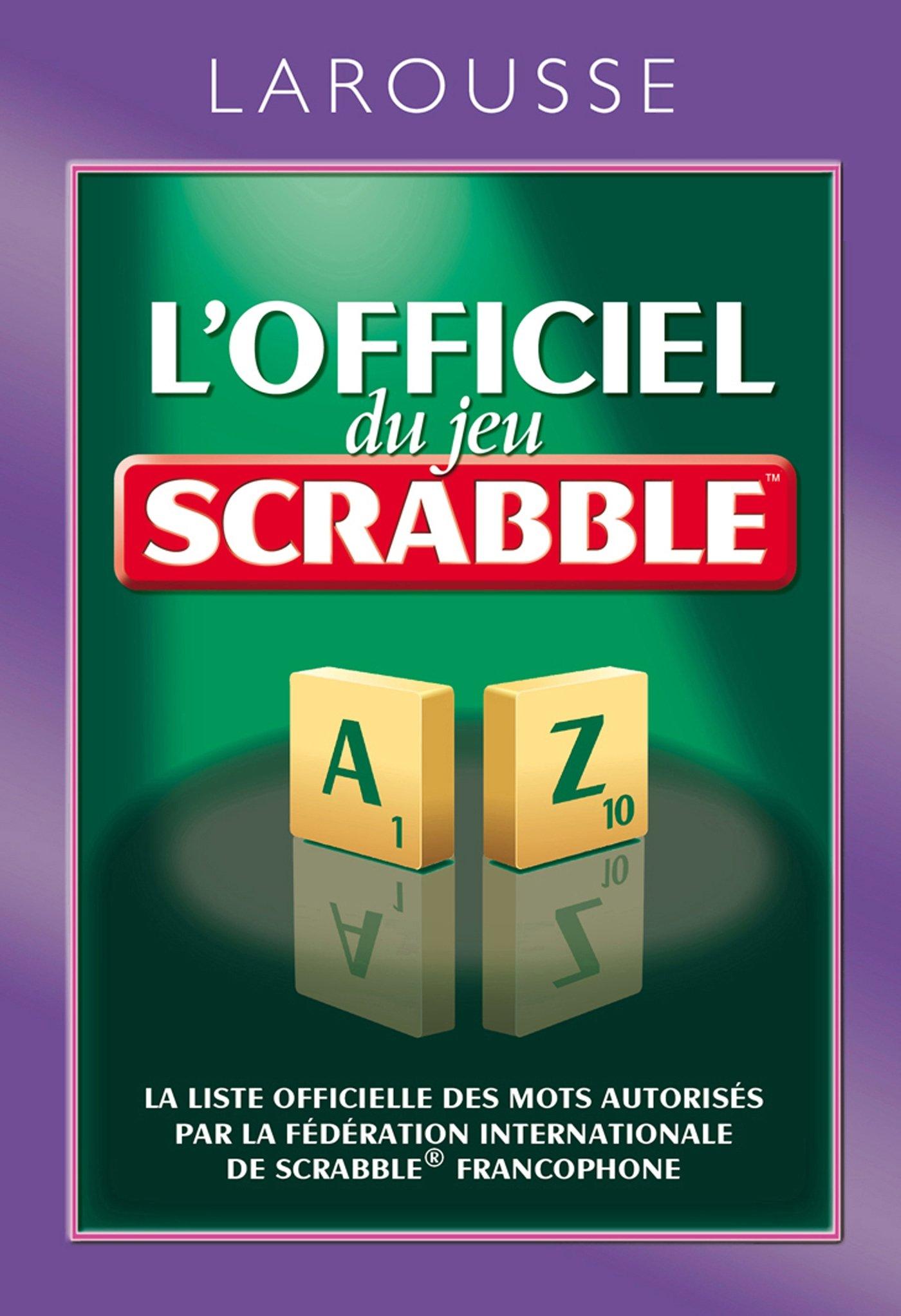 LOfficiel du Jeu Scrabble (Poche Larousse Pratique): Amazon.es: Collectif: Libros en idiomas extranjeros