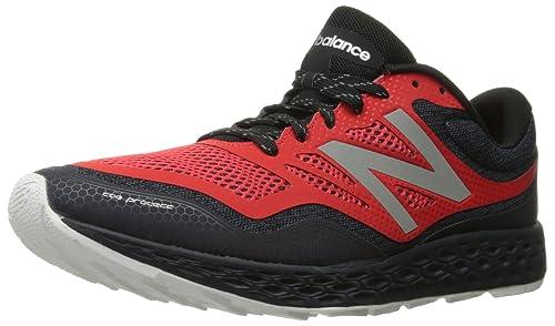 New Balance MT Fresh Foam Gobi D BO Black Red 45.5: Amazon