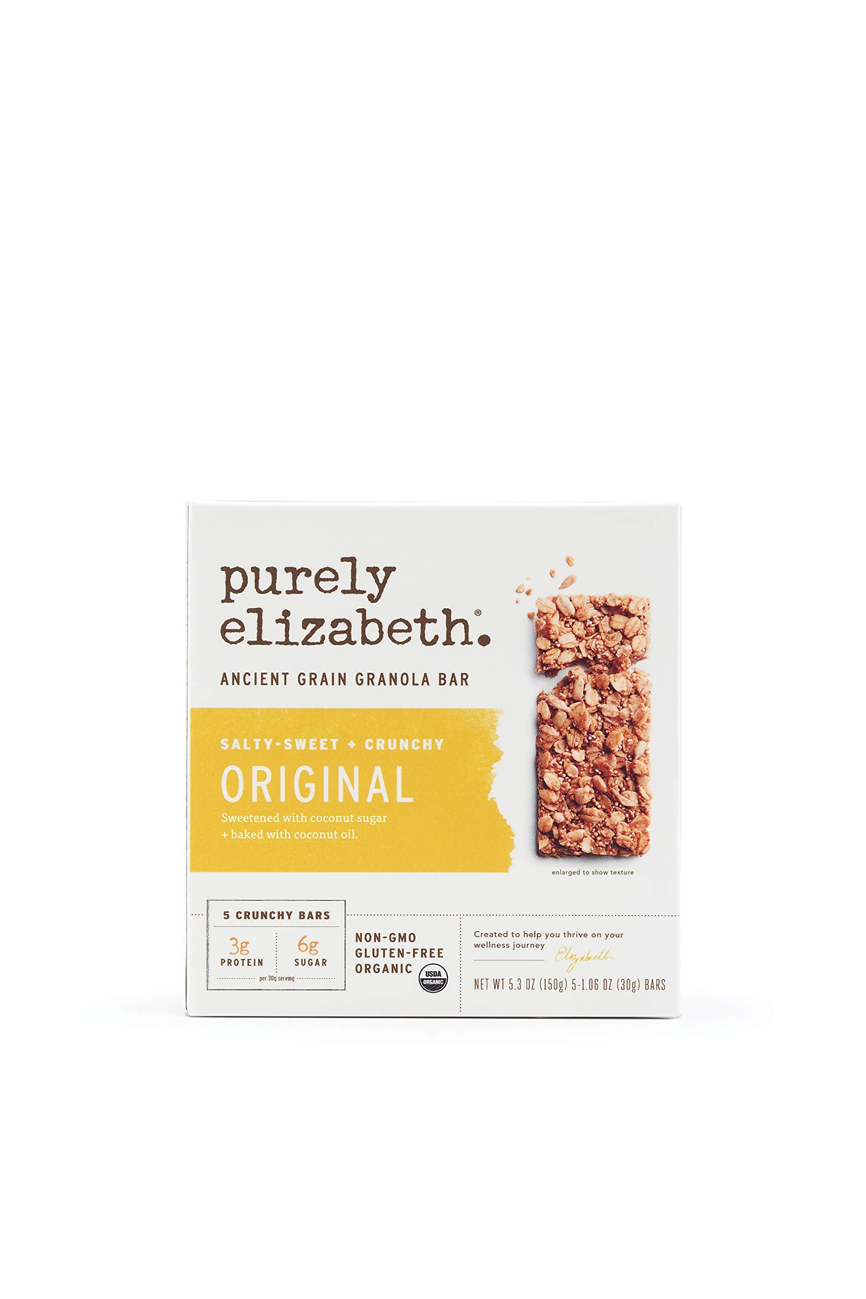 purely elizabeth Ancient Grain Granola Bar, Original, 5 Count by purely elizabeth