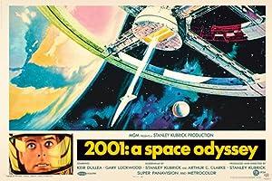 (24x36) 2001: A Space Odyssey Stanley Kubrick Movie Poster Print